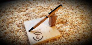 Ash Slimline Pen